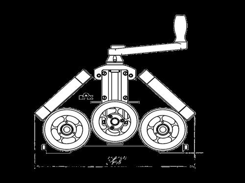 Вальцовка профильной трубы